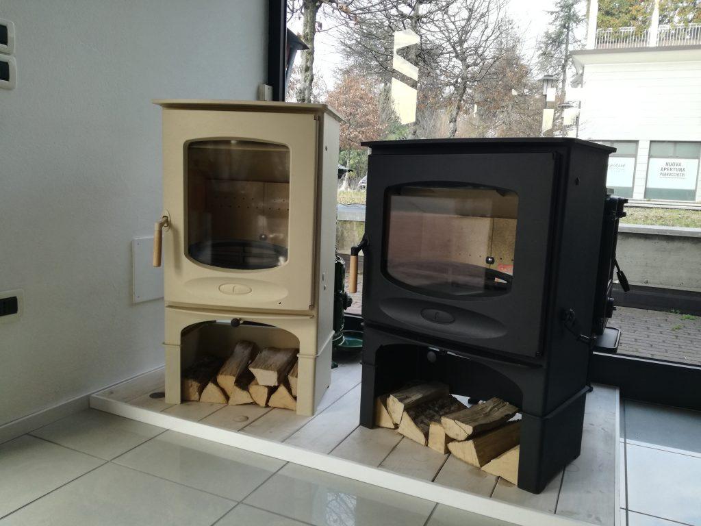 Stufa A Legna Stile Inglese stufa a legna charmwood modello c7 e c8 | offerte speciali